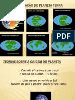 A Formação Do Planeta Terra