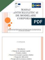 Masaj Anticelulitic Si de Modelare Corporala PPT