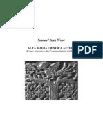 1972 Alta Magia Cristica Azteca - Samael Aun Weor