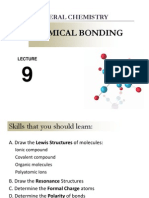 Lecture 9. Chemical Bonding