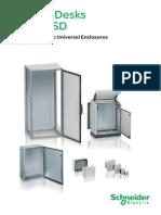 Control Desks Universal Enclosures - Catalogue 2009
