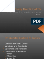 3Q Commonly Used Controls