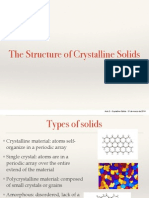 Aula 3 - Crystalline Solids