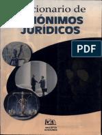 Diccionario de Sinonimos Juridicos