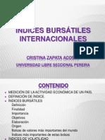 Índices Bursátiles Internacionales