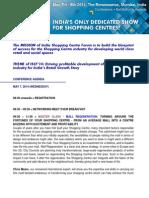 ISCF 14 Agenda