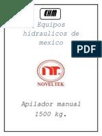 Apilador Manual Noveltek