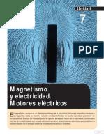 Magnetismo y Electricidad de Motores Eléctricos