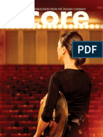Interactive Zildjian Score Magazine