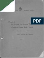 EL002796 Proyecto de Ley Planes de Instrucción Media
