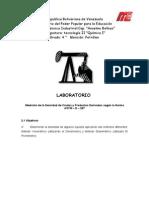 Densidad de Los Liquidos.. Quimica Organica