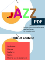 Genre of Song Jazz
