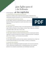 Metodologías Ágiles Para El Desarrollo de Software