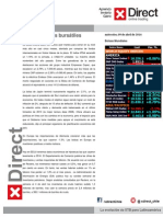 Informe Mercados BURSATILES_abril201409