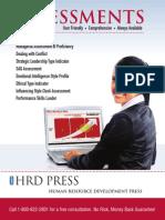 HRD Press - Assessments