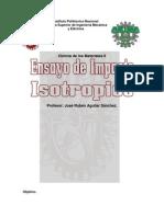 compresion isotropico