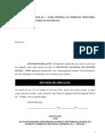 Modelo 4 - Apelação - Julgado Parcialmente Procedente