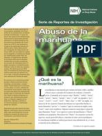 Abuso de Marihuana. NIH