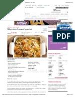 Receita de Bifum Com Frango e Legumes - Culinária - MdeMulher - Ed. Abril