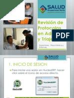 Revisión de Protocolos en Admisión y Triaje