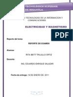 Reporte de Examen Unidad II Rita