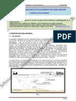 Coefficient de Reflexion et de transmission des ondes sismiques (Amplitude et film synthétique)