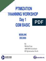 MOBILINK_Trainnig Workshop for Optimization GSM BASIC
