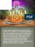 Yoga, Which Derives Its Name From