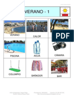 Bingo VERANO Fotos 3x3