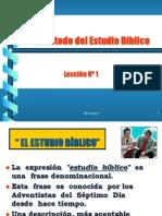 1 El Metodo Del Estudio Biblico[1]