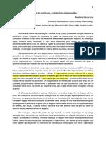 Relatório Eixo 1 - o Real Da Ciência e o Real Da Psicanálise