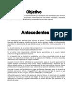 Obejtivo&Antecedentes