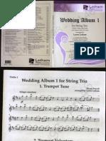 Wedding Album (for string trio) Violin 1  part