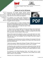 Kenya - The Standard - Online Edition - 2004-06-27 issue - Kenyan-born Obama