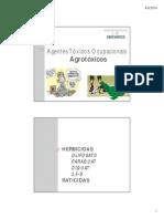 Agentes Tóxicos Ocupacionais - Agrotóxicos II