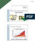 Agentes Tóxicos Ocupacionais - Agrotóxicos