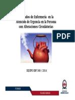 Clase N°7 Cuidados de Enfermería en Pacientes con Alteraciones Circulatorias