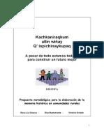 Guía Metodologica de Elaboración Memoria Histórica (1)