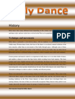 history of belly dance