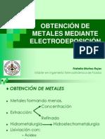 Obtencic3b3n de Metales Mediante Electrodeposicic3b3n TAREA