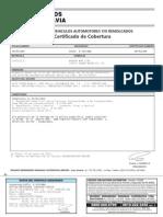 Certificado de Cobertura Enero