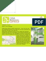 Localização | Casa de Dramaturgia Carioca