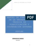 Manual de Funciones Operativas SEPLAN Parte A