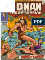 Conan 1 1970 Comic
