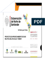 Gobernación_norte_santander Embalse Multiproposito El Cinera
