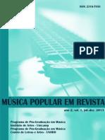 Musica Popular Em Revista Vol1. 2013