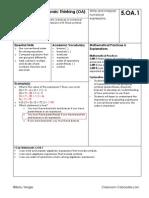 grade 5 - math standards examples