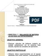 Practica 7 Balance de Materia