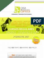 Cursos de Teatro Cinema e TV Rio | Casa de Dramaturgia Carioca
