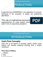 Intro Engineering Economy